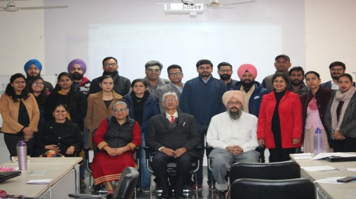 Faculty Development Program on GIS Application in Architecture and Civil Engineering at IKG PTU Mohali Campus-II