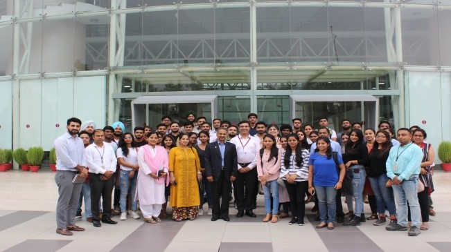 LEED lecture and visit to Infosys campus , I.T. Park Chandigarh